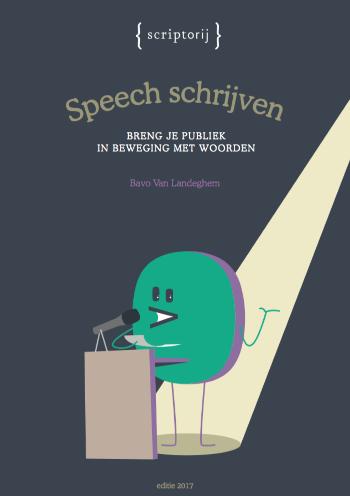 Boek speech schrijven