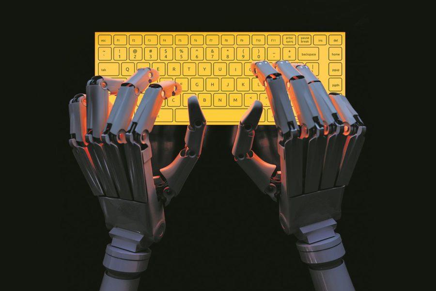 robothanden die typen.